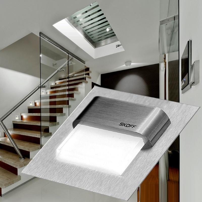 tango skoff led treppenbeleuchtung set inkl trafo 2 10x leuchte und 2x trafo ebay. Black Bedroom Furniture Sets. Home Design Ideas