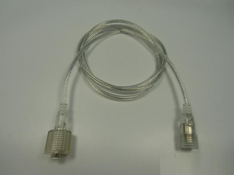 1m Verbindungskabel 2,1mm Stecker/Buchse männl./weibl. für Superflux LED Leisten