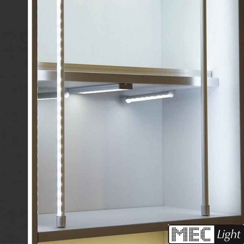 1m profilo allum pen 10 tondo alluminio bordo per strisce - Strisce led per bordo piscina ...