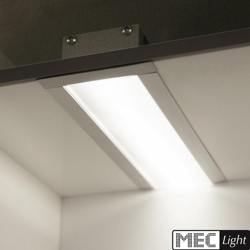 1m einbau profil flat aluminium leiste inkl abdeckung f r led streifen alu ebay. Black Bedroom Furniture Sets. Home Design Ideas