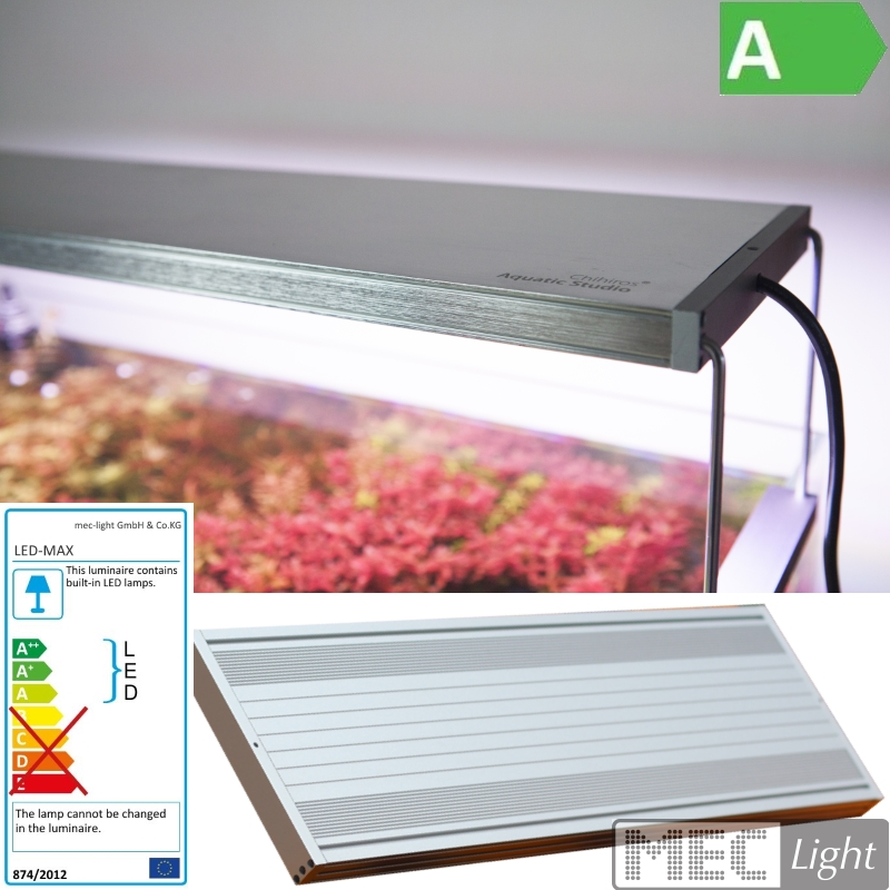 Chihiros WRGB60-80cm LED Aquariumbeleuchtung / Aquascape System Silver Edition