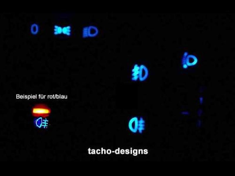Blaue Schalter Opel Corsa B Combo B Tigra Led Schalterbeleuchtung