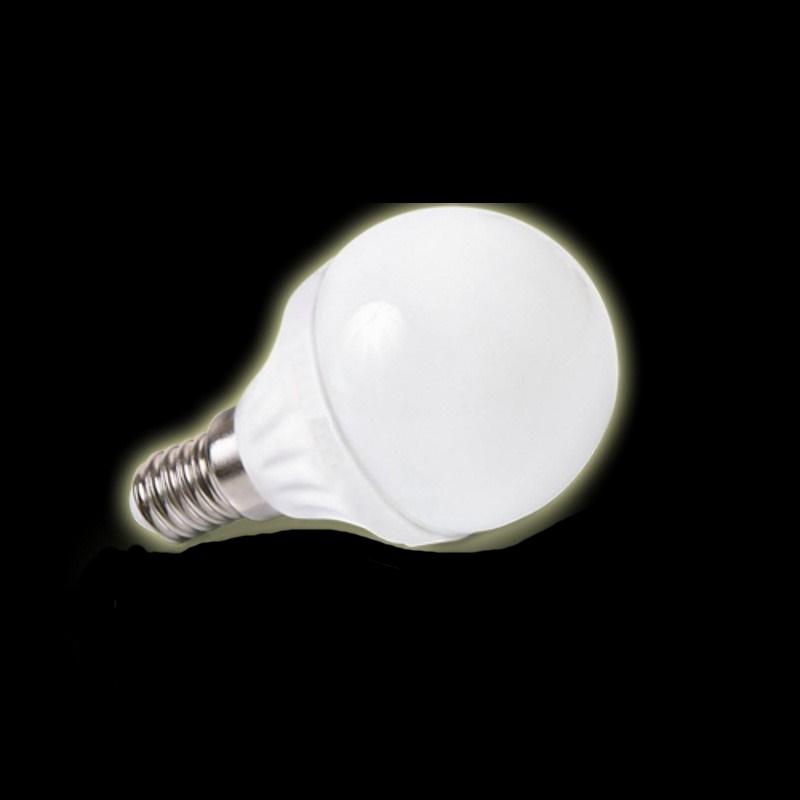 E14 LED GLOBE/Birnenleuchte – 4W - 330Lm - warm-weiß