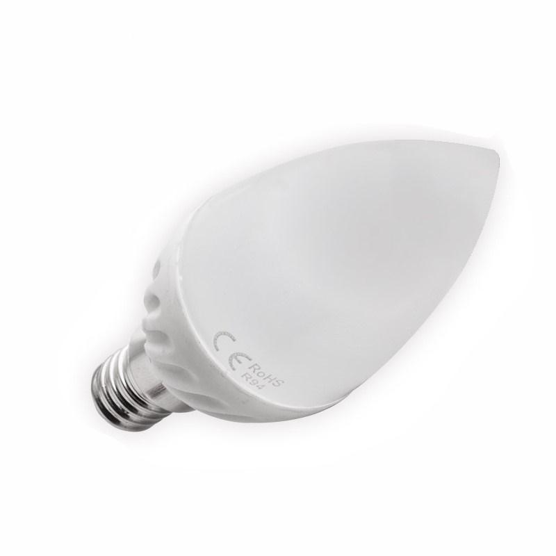 E14 LED KERZE/Kerzenlampe - 470Lm - 6W warm-weiß