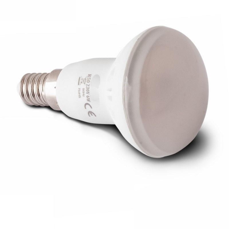 E14 LED Parabel Spot (R50) 33x LED - 6W – 450Lm – warm-weiß (3000K)