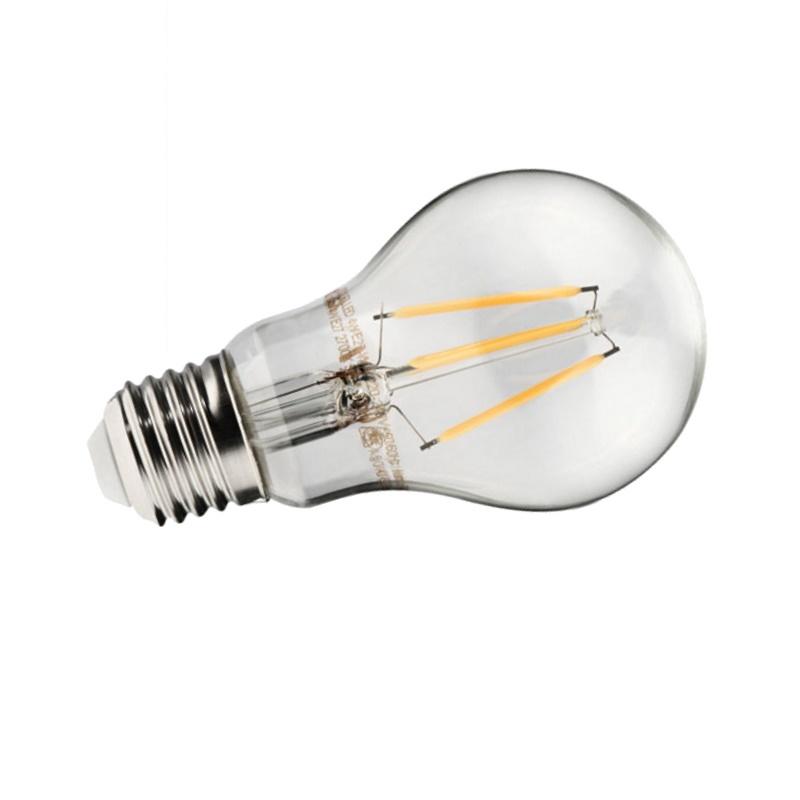 E27 LED Filament Leuchtmittel Birne 750Lm 6W 230V warm weiß (2700K)