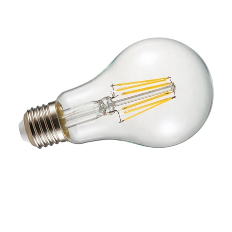 E27 LED Filament Leuchtmittel Birne 1000Lm 8W 230V warm weiß (2700K)