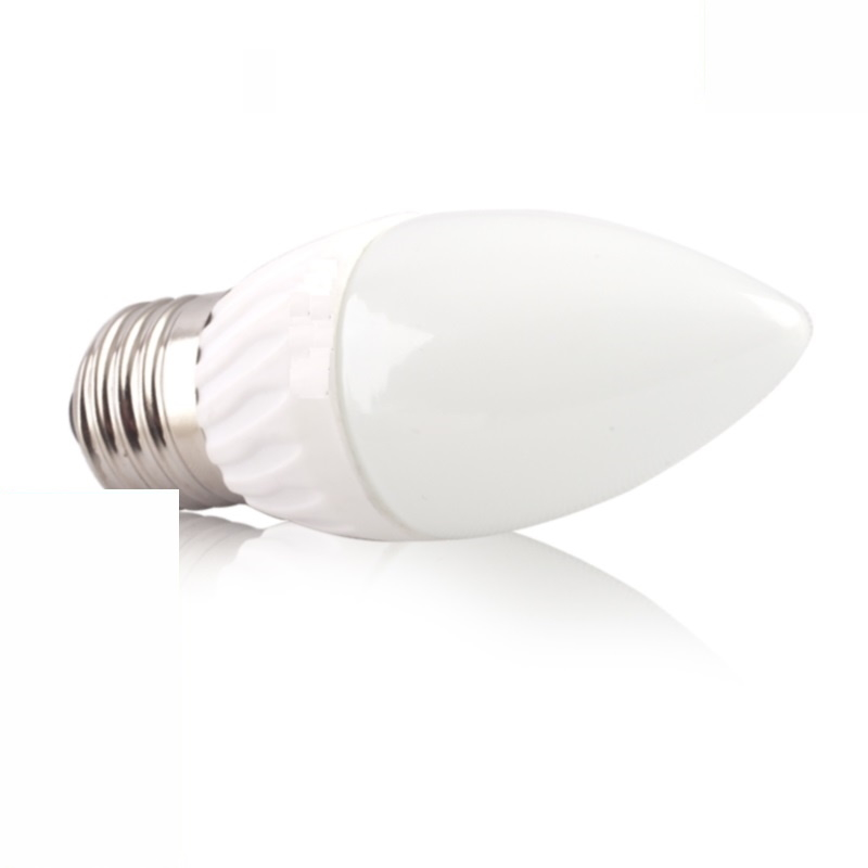 E27 LED KERZEN Leuchte 6W 470Lm warm weiß
