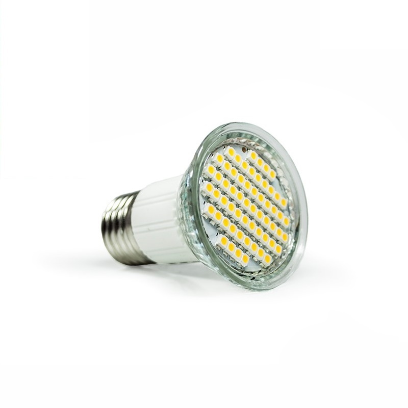 E27 LED Strahler/Spot - 60 SMD-Leds – 260Lm - 3,5W - warm-weiß