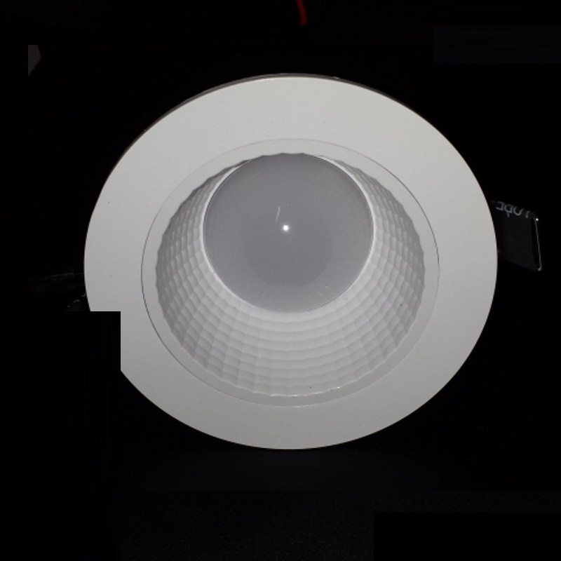 led einbauspot leuchte dimmbar 11w 800lm inkl trafo warm wei downlight ebay. Black Bedroom Furniture Sets. Home Design Ideas