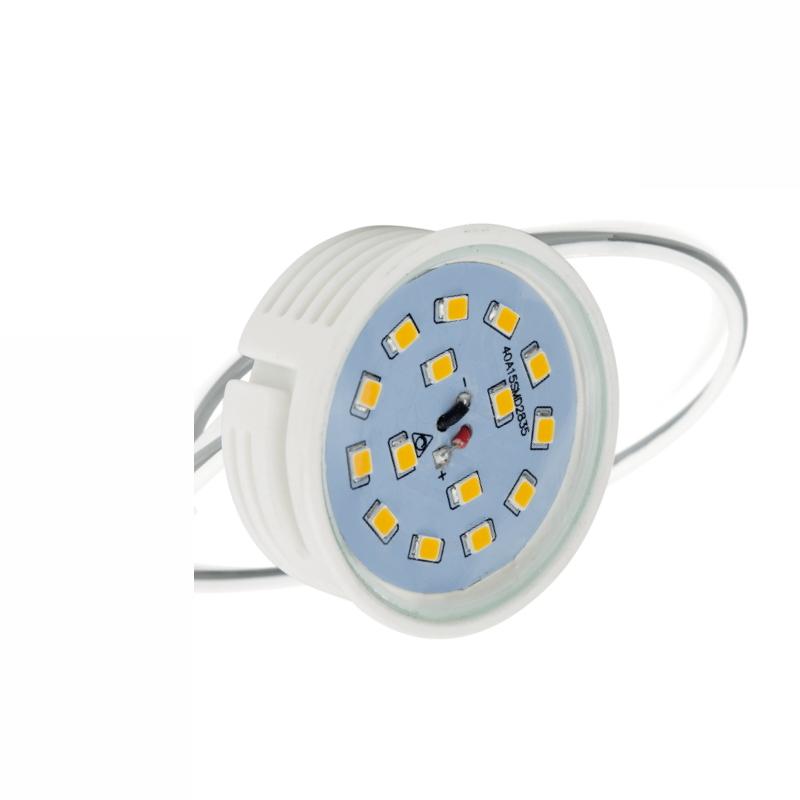 LED Einbaumodul dimmbar 7W 550Lm warm weiß 2700K slim 33mm hoch für Einbaurahmen