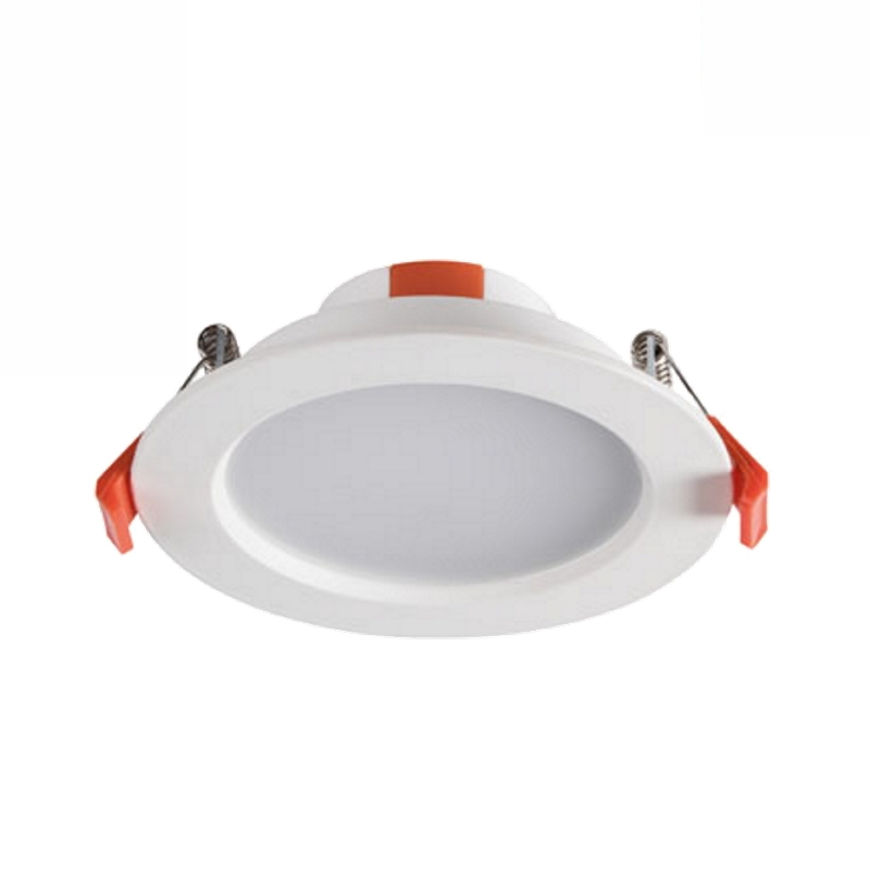 LED Einbauspot / Panel / Downlight 230V 6W - 390Lm DA=87mm neutral-weiß (4000K)