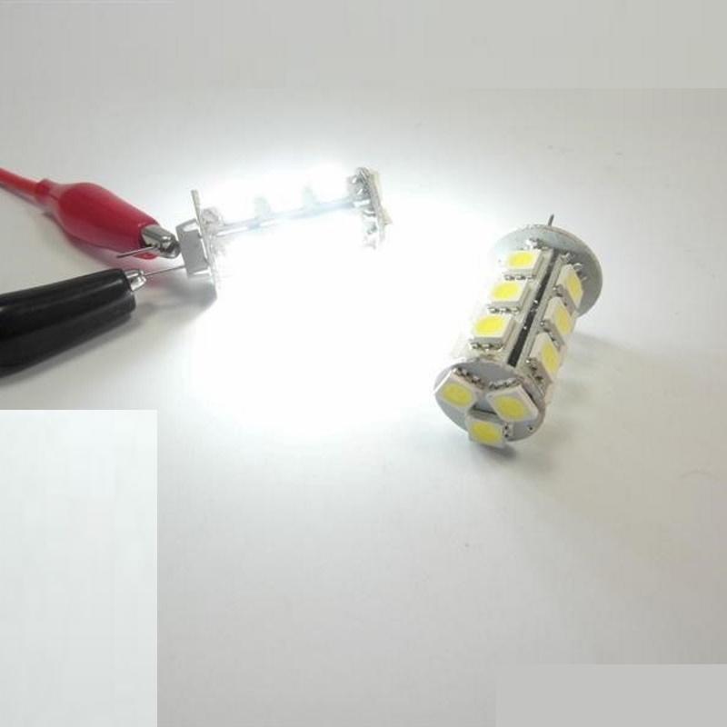 G4 LED Stiftsockel-Zylinder - 18x 3-Chip-SMDs - 288Lm - 3,8W - 10-30V/DC - weiß