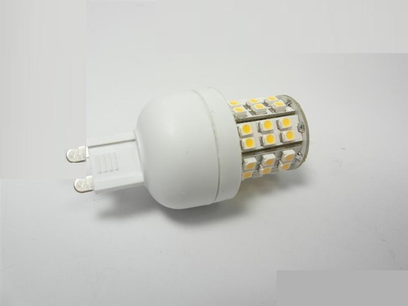 G9/GU9 LED Leuchtmittel 48x SMDs - 2,5W - 220Lm - warm-weiß