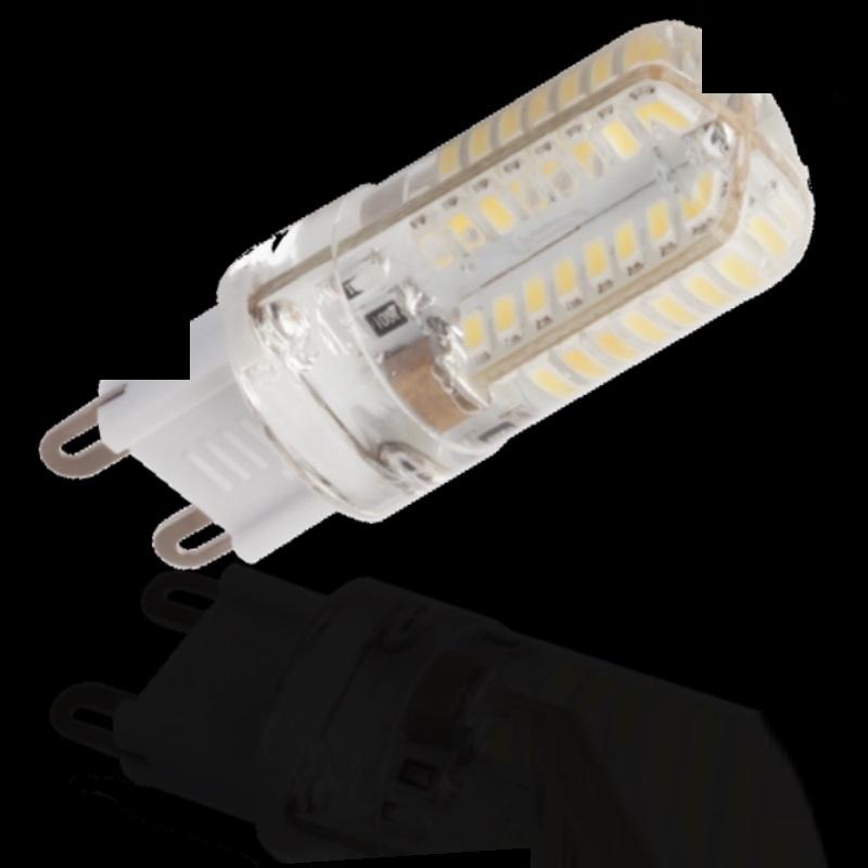 G9/GU9 LED Stiftsockel 64xSMD Leds 2,5W 180Lm warm weiß