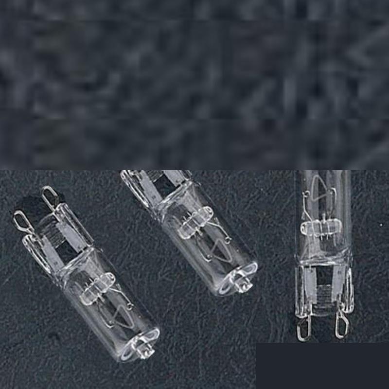 G9 Stiftsockel Halogen Lampe HV 230V 18W / 42W / 52W (GU9 Halogenleuchte)EEK:C