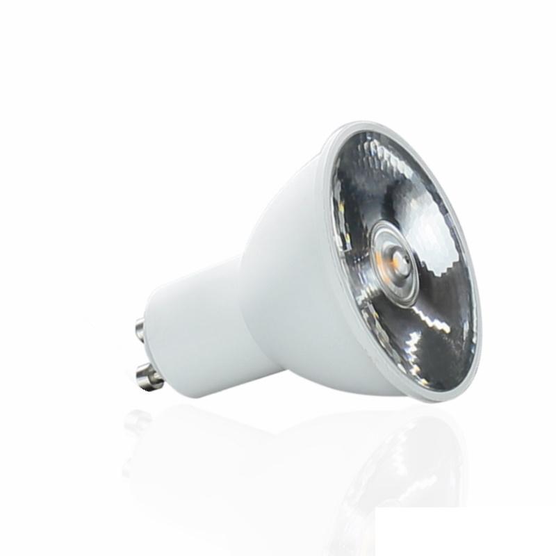 GU10 LED Spot/Strahler 10° Abstrahlwinkel - 400lm - 6W - pur-weiß 3600-4800K