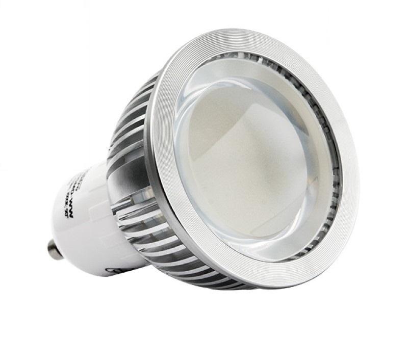 "GU10 LED Strahler 90° - ""EPRO"" 60xSMD – 410Lm - 5,4W – warm-weiß"