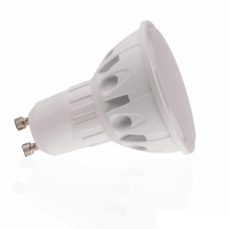 GU10 LED Strahler/Spot 120° - 5W - 380Lm - 230V - kalt-weiß (6000K)