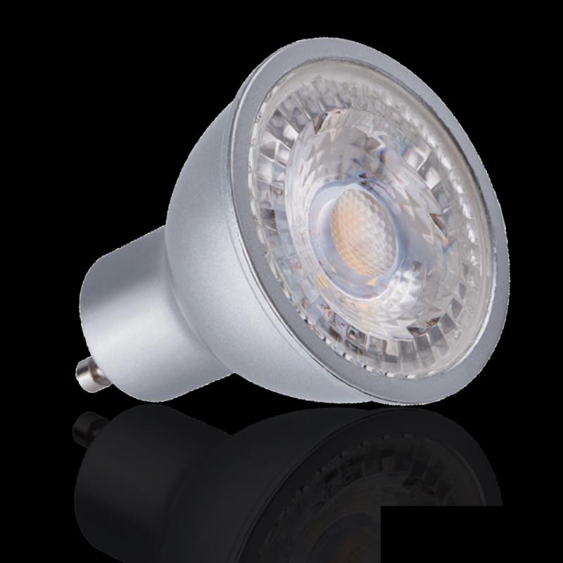 GU10 LED Strahler/Spot dimmbar 7,5W 550Lm 120° neutral weiß (4000K)