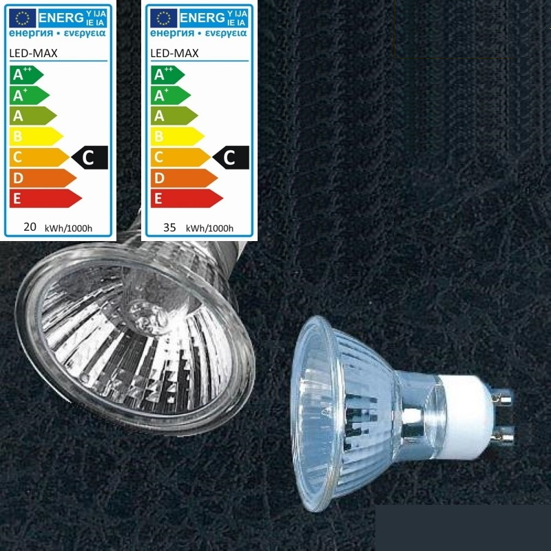 GU10 Halogen Strahler/Spot Reflektorlampe 230V - 20W/ 28W/ 40W