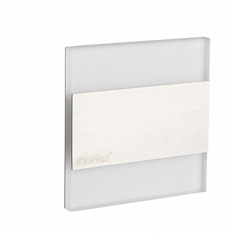 Design Dekorleuchte / Treppenleuchte 230V/AC Kanlux TERRA LED 0,8W kalt-weiß