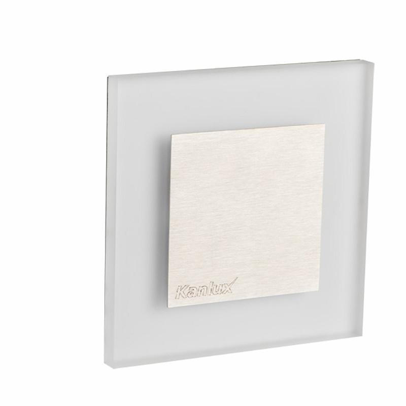 Design Dekorleuchte / Treppenleuchte 230V/AC Kanlux APUS LED 0,8W kalt-weiß