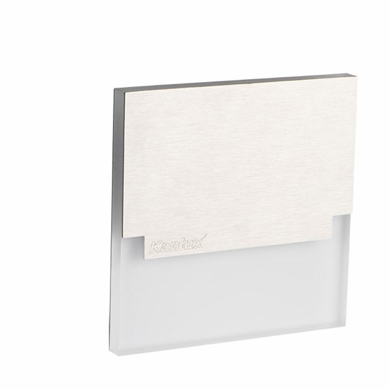 Design Dekorleuchte / Treppenleuchte 230V/AC Kanlux SABIK LED 0,8W kalt-weiß