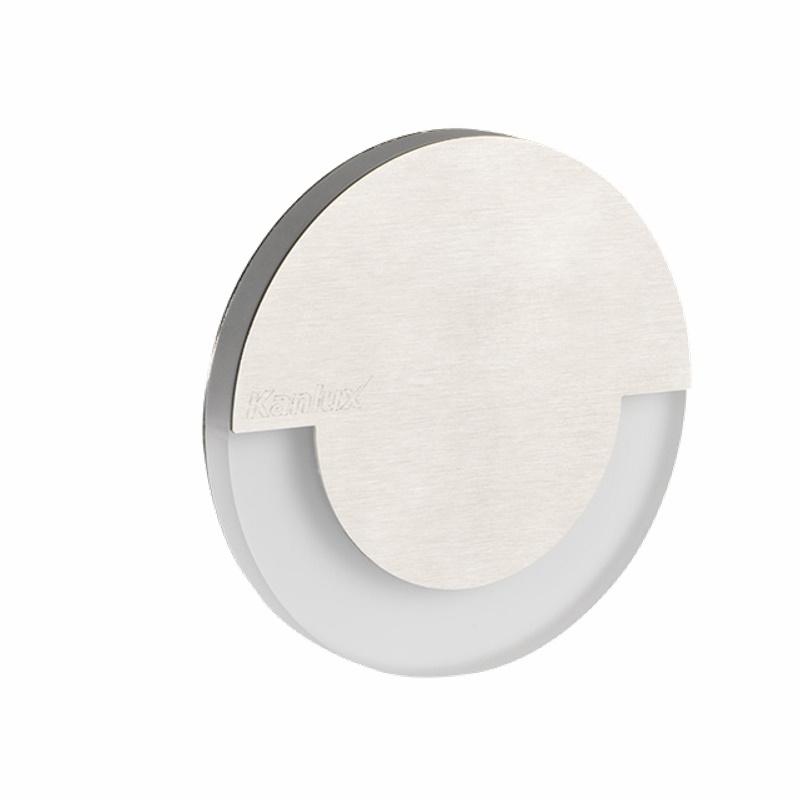 Design Dekorleuchte / Treppenleuchte 230V/AC Kanlux SOLA LED 0,8W kalt-weiß