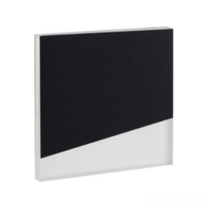 Design Dekorleuchte / Treppenleuchte LED B WW schwarz 12V DC 0,8W warm weiß