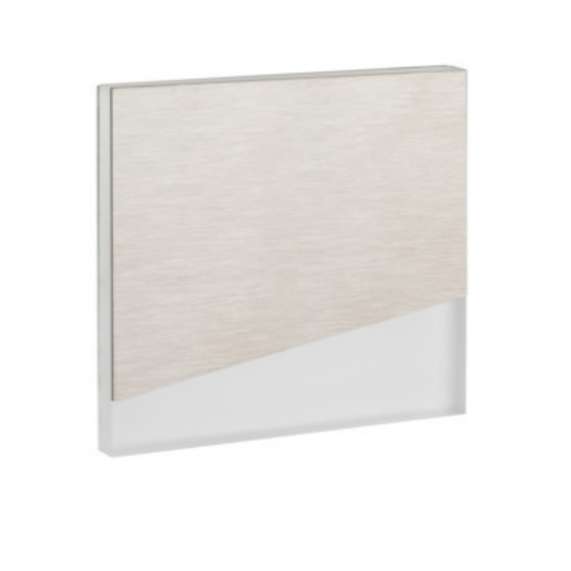 Design Dekorleuchte / Treppenleuchte SEORA Edelstahlfarben 12V DC 0,8W warm weiß