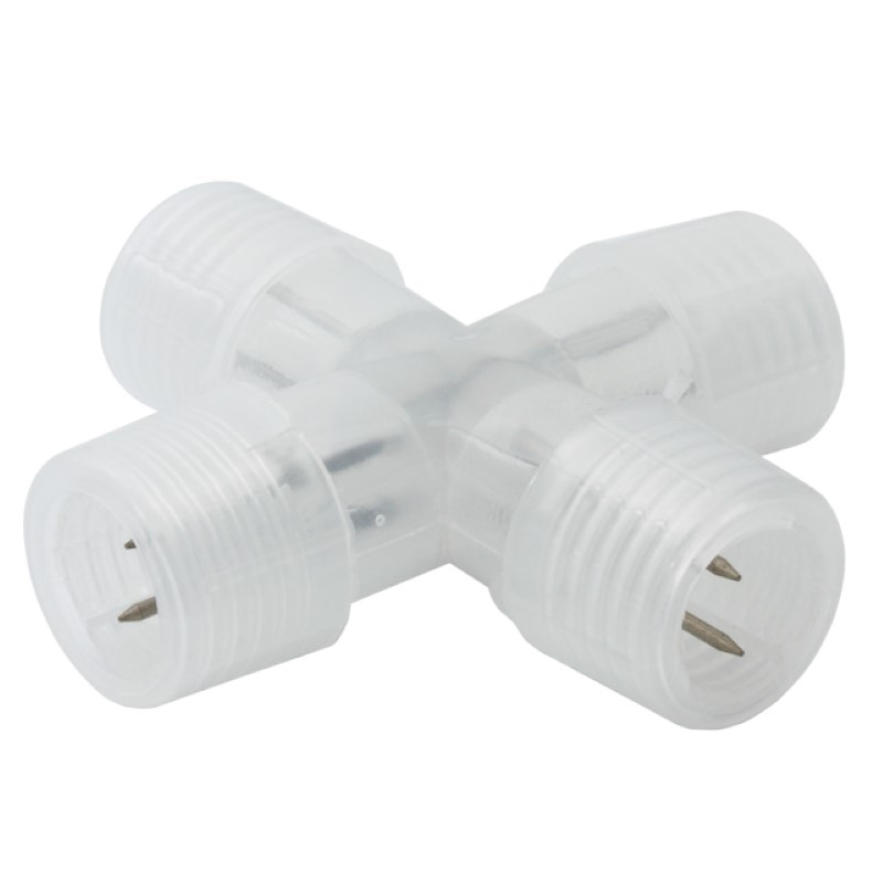 Kreuzverbinder für unsere LED Lichtschläuche / Lichtschlauch - X Stück