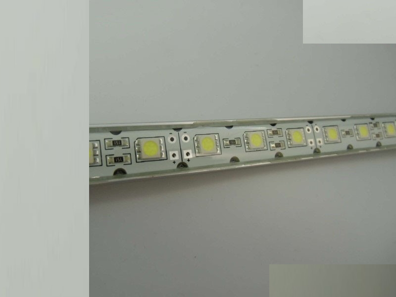 (24€/m) 50cm LED/SMD Leiste 30x LEDs in weiß 12V -wasserfest- IP64 - 0,50m