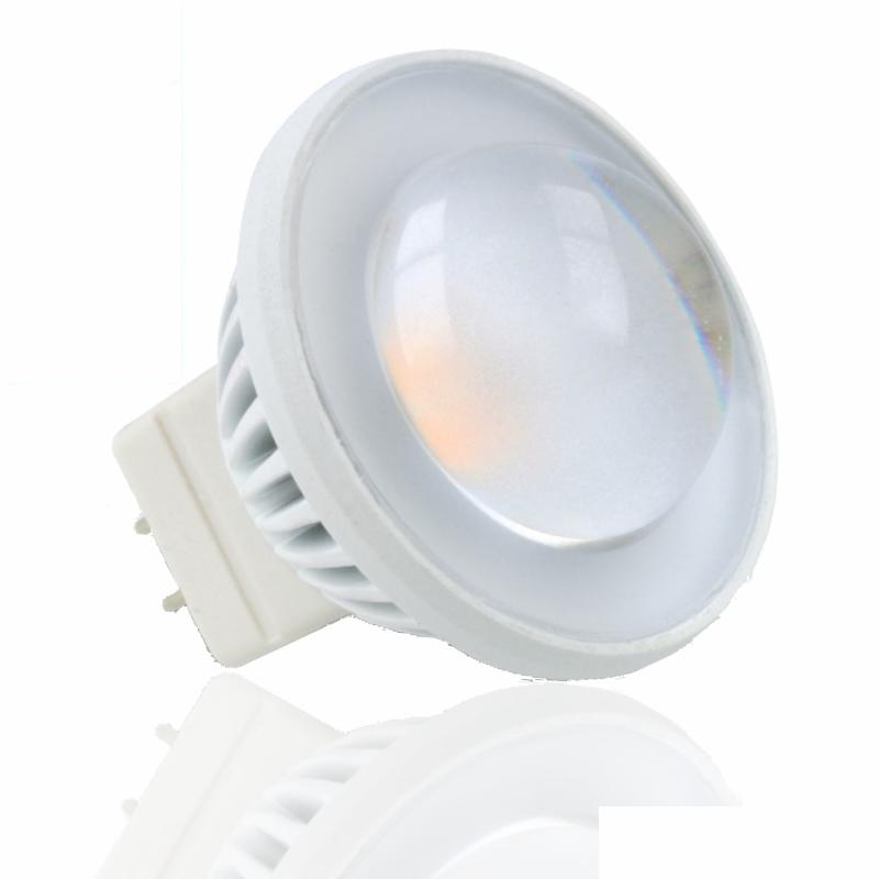 MR11/GU4 LED Strahler/Spot 3,5W 220Lm 60° Abstrahlwinkel warm weiß (2700K)