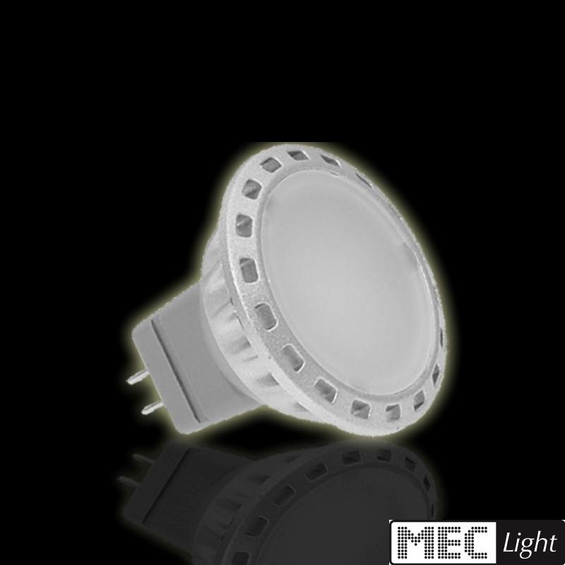 MR11/GU4 LED-Strahler 2W - 120Lm - 120° Abstrahlwinkel - kalt-weiß