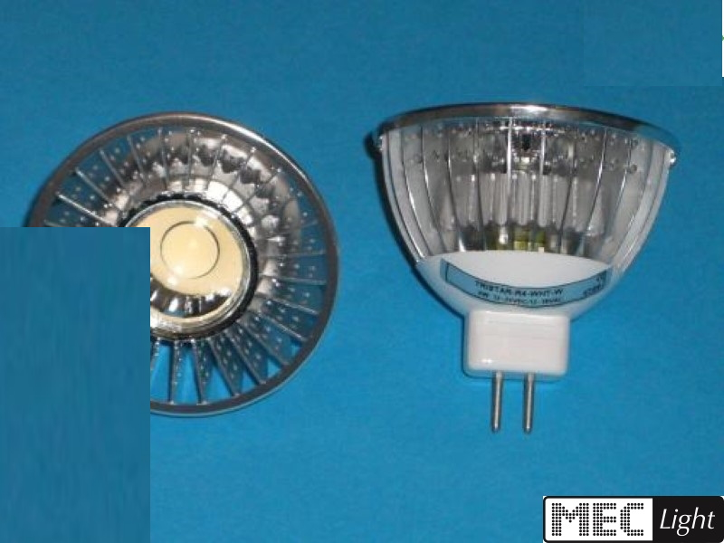 MR16/GU5.3 LED Spot R4 - 45°- 6W - 330Lm -DIMMBAR- daylight-weiß (5500K)