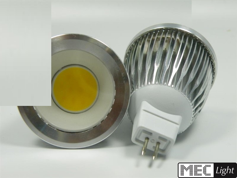 MR16/GU5.3 LED Strahler/Spot - 60° - 5W COB-LED - 450Lm - warm-weiß (3000K)