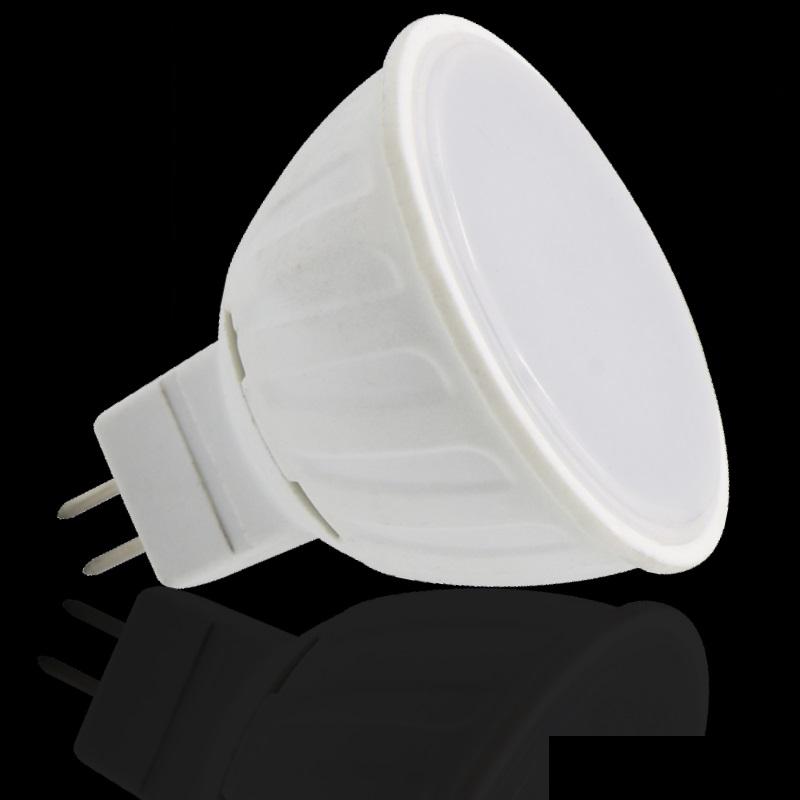 MR16/GU5,3 LED Strahler - 5W - 390Lm - 120° - 12V - kalt-weiß (5300K)