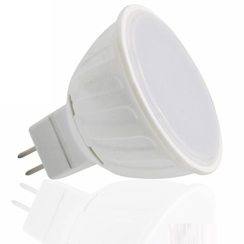 MR16/GU5,3 LED Strahler - 5W - 370Lm - 120° - 12V - warm-weiß (3000K)