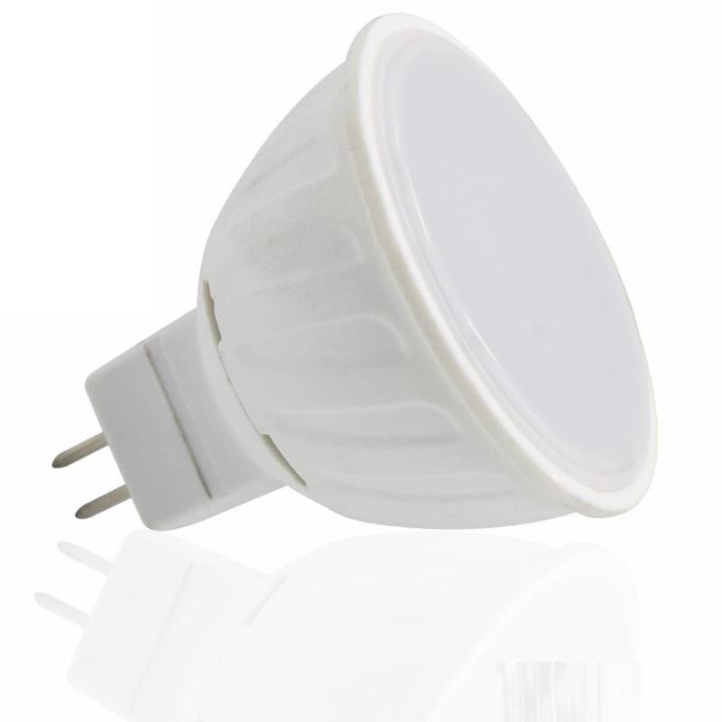 MR16/GU5,3 LED Strahler - 7W - 480Lm - 120° - 12V - warm-weiß (3000K)