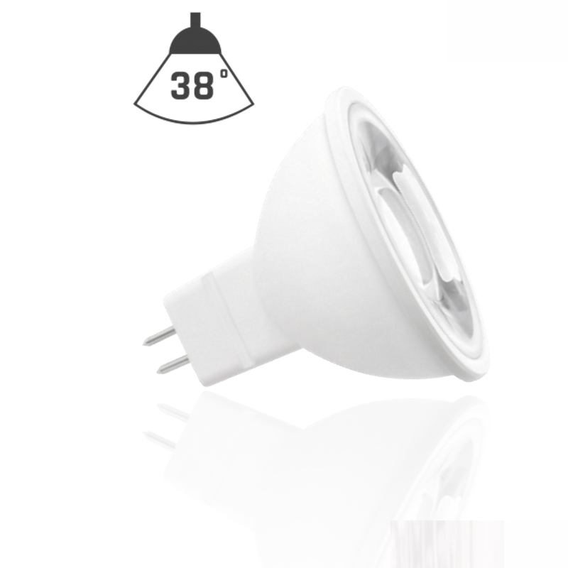MR16/GU5,3 LED Spot 38° - 6W - 420Lm-500Lm - 12V - warm-weiß / kalt-weiß