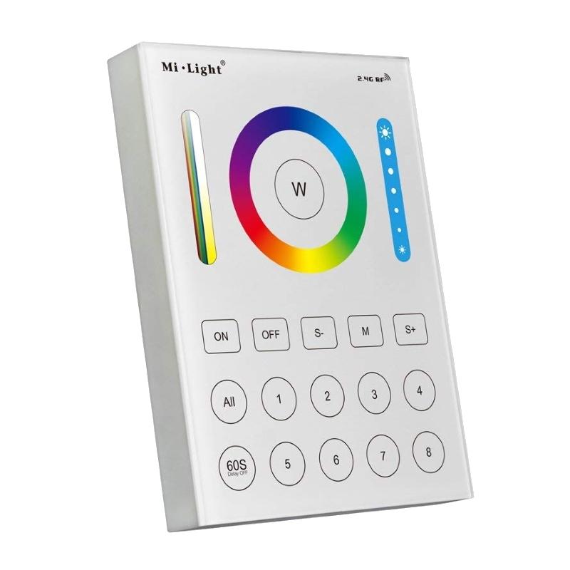 Funk RGB+CCT LED Wandpanel 8 Zonen für farbsteuerung RGB+CCT LEDs MiLight
