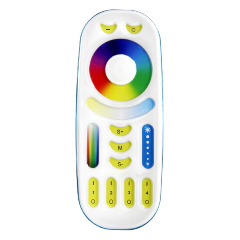 Funk RGBWW+CCT LED Fernbedienung 4 Kanal/4 Zonen farbsteuerung RGBW+CCT MiLight