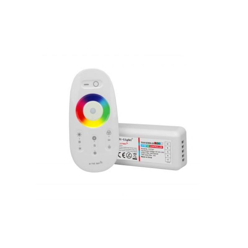 RGB LED-Controller + Fernbedienung 2,4GHz Funk - Komplettset 12-24V MiLight
