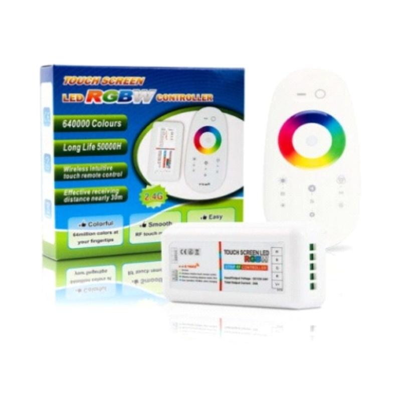 RGBW LED Controller + Fernbedienung 2,4GHz Funk Komplettset 12-24V MiLight