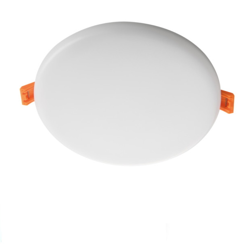 LED Einbauspot/Panel 230V 14W 1000Lm DA=140mm AREL pur weiß 4000K superflach