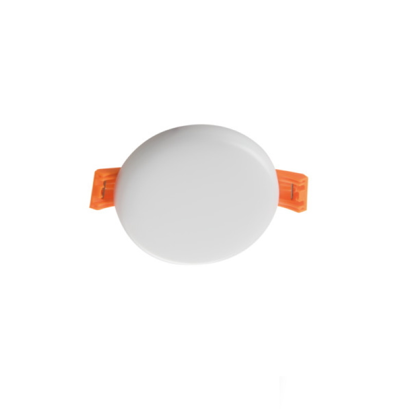 LED Einbauspot/Panel 230V 6W 400Lm DA=60mm AREL pur weiß 4000K superflach