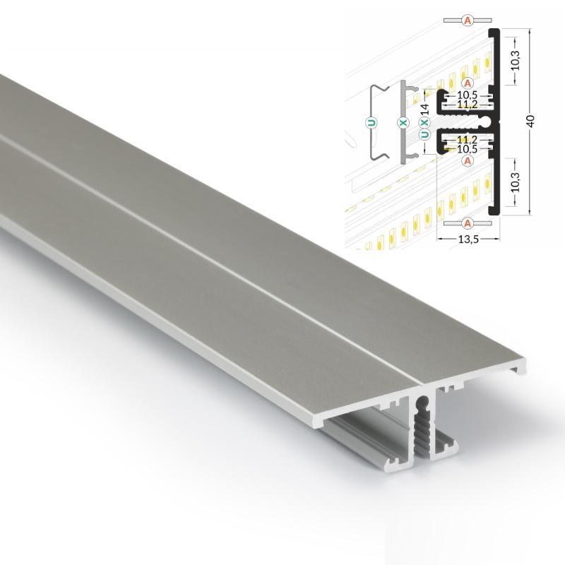 ALU-Profil / Leiste / Schiene