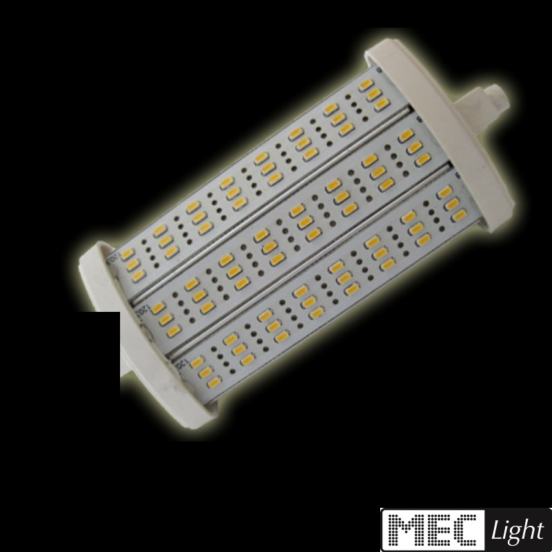 R7s LED Stab-Leuchte - 72x SMD LEDs -118mm- 8W - 700Lm - warm-weiß