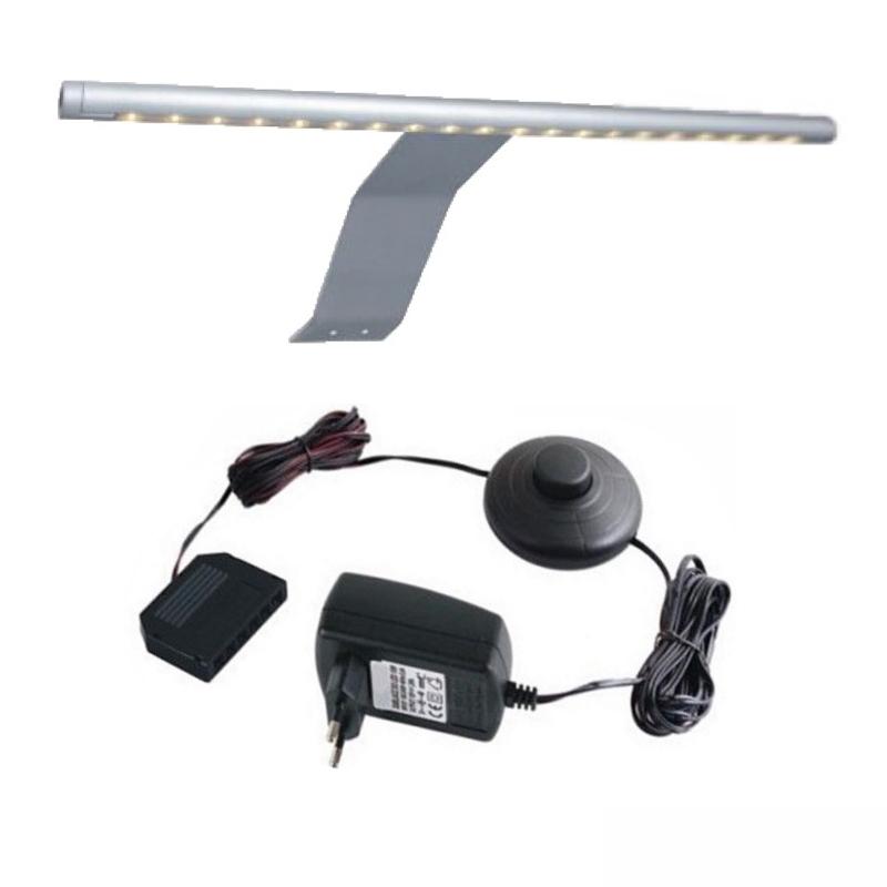 1-6x LED Stableuchte Möbelleuchte Schrankleuchte Komplettset (3000K)